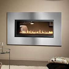Direct Vent Fireplace Insert by Montigo L Series See Through Direct Vent Fireplace