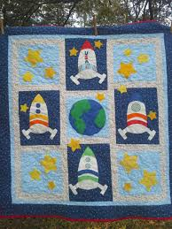 Rocket Ship Curtains by Space Bedding Custom Boy Bedding Crib Toddler Bedding Space