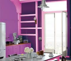 cuisine couleur violet peinture cuisine couleur violet table grise