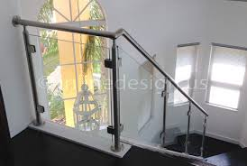 Stainless Steel Handrail Designs Stainless Steel Railing Systems Square Corner Post W Square Glass