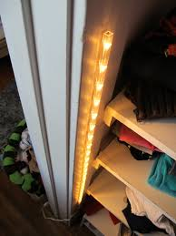 Diy Led Light Strip by A 15 Closet Lighting Solution Merrypad