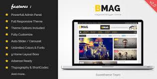bmag v2 1 1 magazine responsive blogger template themelock com