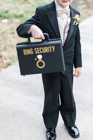 ring security wedding st pete wedding ceremony ring bearer with ring security briefcase