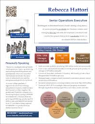 Infografic Resume Infographic Resume Example For Senior Sales Manager Resume