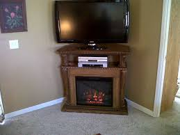 corner tv cabinet with electric fireplace small corner electric fireplace laphotos co