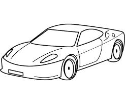 coloring car