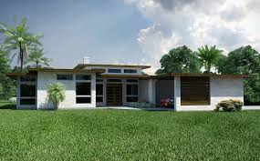 Contemporary House Plan Mid Century Ranch House Plans Photos Modern Interiors Floor Plan