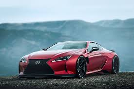 widebody lexus ls rainprisk lc500 widebody lexus lc500 forum