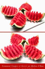 techniques de cuisine 1 technique de cuisine comment couper et servir un melon d eau