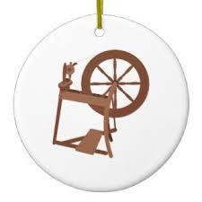 spinning wheel ornaments keepsake ornaments zazzle