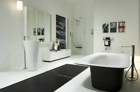Black Modern Bathroom White Modern Bathroom Home Interior Ekterior Ideas