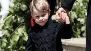 Royal Wedding Meme - prince george s angsty look is our fav royal wedding meme cafemom