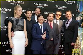 bradley cooper hangover part iii premiere with cast