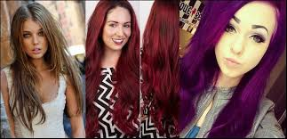 different hair 2018 winter hair coloring trends in different color dyeing