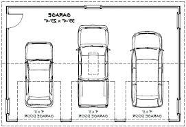 size of a 3 car garage best 3 car garage dimensions intended for 3 car gar 9916