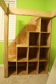 Diy Bunk Beds With Stairs Loft Bed With Steps With Storage To A Loft Bed These Steps Are