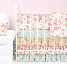 Vintage Style Crib Bedding Cora S Vintage Pink Linen Lace Crib Bedding See More Ideas