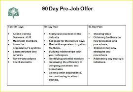 sales plan pdf 30 60 90 day plan template u2013 18 free word pdf