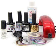 popular gel nails set buy cheap gel nails set lots from china gel
