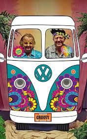 printable hippie photo booth props hippie car photo booth backdrop printable 60s 70s party