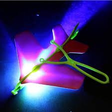 led light up toys wholesale 2018 wholesale led light arrow plane helicopter flying toy led light