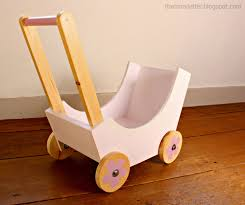 build your own diy doll stroller using simple materials and wood