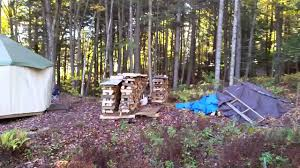 Living In A Yurt by Yurt Living In Vermont Youtube