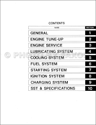 1975 1981 toyota land cruiser 2f engine repair shop manual factory