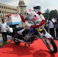 mercedes bicycle salman khan karnataka gets asia u0027s first two wheeler motorcycle ambulances may