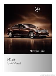 mercedes benz s550 4matic 2010 w221 owner u0027s manual