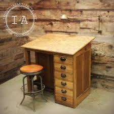 Used Drafting Table For Sale Drafting Table Desk With Drawers Foter Onsingularity