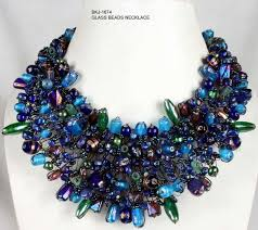 glass beads necklace images Glass beads jewellery indian beads jewelry wholesale indian jpg