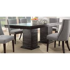 dining set espresso 5pc set table 4 side chairs