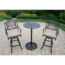 outdoor furniture bar sets 02bt 024bs2 patio furniture bar height