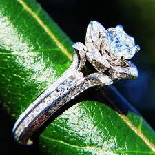 lotus flower engagement ring lotus flower engagement ring gold 2 ifec ci