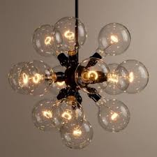 Exposed Bulb Chandelier Lighting Chandelier Basket Chandelier Edison Candelabra Light