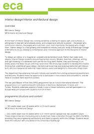 Interior Design Sample Resume Interior Design Proposal Template