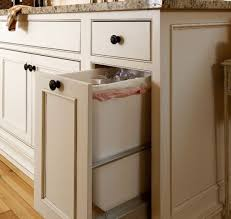 Pull Out Trash Can 15 Inch Cabinet Best 25 Traditional Kitchen Trash Cans Ideas On Pinterest