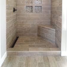 bathroom niche ideas linear shower drain design gaining bathroom elegance traba homes