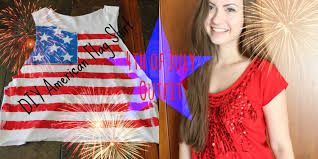 Cute American Flag Shirts 4th Of July Diy Flag Shirt Ideas Youtube