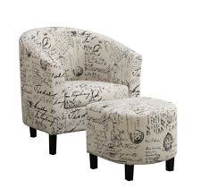 accent chair with ottoman coaster home furnishings 900210 accent chair and ottoman in vintage