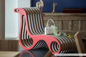 design chaise x2chair cardboard chaise longue by lessmore design giorgio caporaso