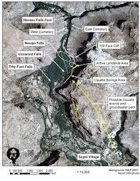 The Wave Arizona Map by Havasupai Falls Tours Directions Maps Of Havasupai And Trail
