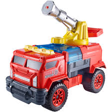 matchbox aqua cannon ultimate fire truck vehicle walmart com