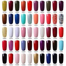 amazon com elite99 soak off gel nail polish 5 colors beauty