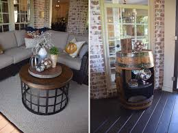 happy fall front porch living life when the seasons change make sure that you are changing out your coffee table decor as well keep it simple by adding in a few pumpkins again