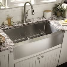 Kitchen With Farm Sink - kitchen sinks classy kitchen faucets apron front sink granite