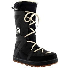 womens sorel glacy explorer waterproof winter fur lined