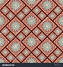 spanish design seamless pattern spanish style spain tilework stock vector