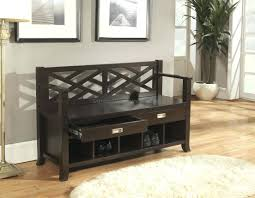 Shoe Storage Bench Small Hallway Storage Bench Narrow Hall Tree Storage Bench Full